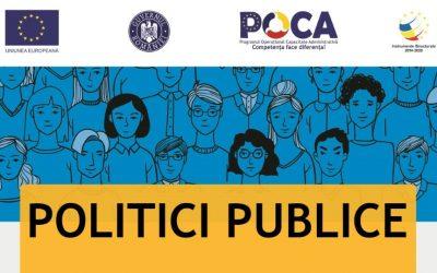 Sesiune de formare Politici Publice [CT-8-9.11]