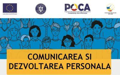 Sesiune de formare Comunicare si dezvoltare Personala [SM-8-10.04]